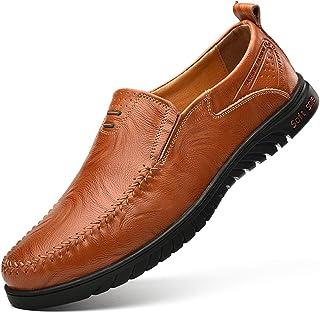 bf67bda1bdcc Chaussures Homme Cuir Printemps/Été/Automne Confort/Semelles Légères  Mocassins Et Slip-