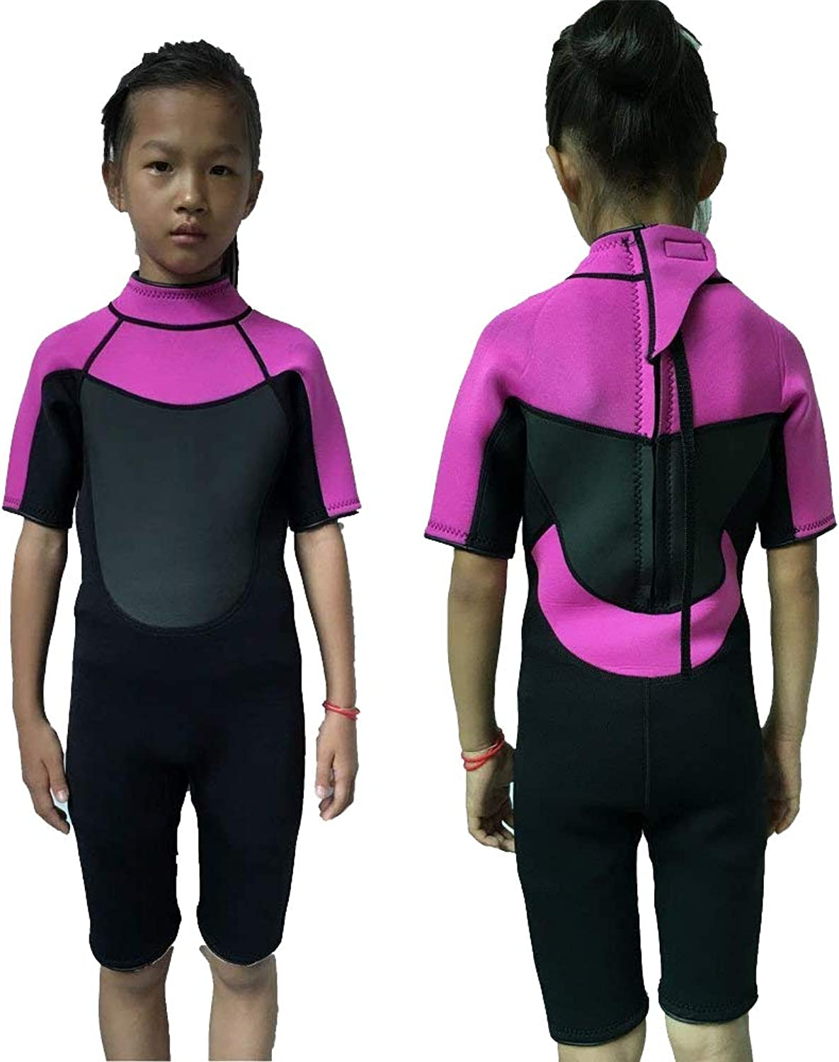 Realon Wetsuit Kids Shorties 3mm Boys Swim Surfing Snorkeling Wet Suits Youth