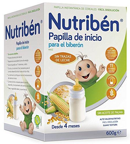 Nutribén Papilla Inicio Biberón - 600 gr