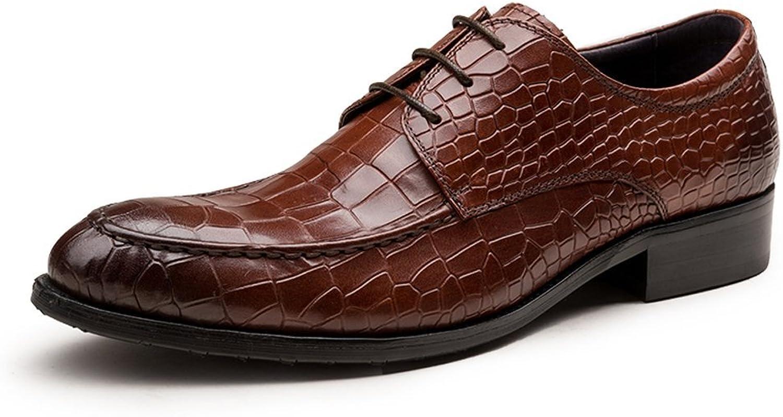 Santimon herrar Derby Genuine läder Dress Oxford skor skor skor  förstklassig service