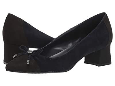 Bandolino Azia (New Luxe Navy/Black) Women