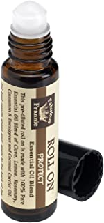 Fabulous Frannie Protect (Compared to Thieves) Pre-Diluted Essential Oil Blend Roll-On 10 milliter (Cinnamon, Clove, Eucalyptus, Rosemary and Lemon)