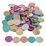 "Give these plastic metallic coins to kids as classroom rewards when they're ""caught being good"". Let students trade these play coins for their favorite rewards from your treasure chest or use them as classroom incentives! Discover even more unique wa..."