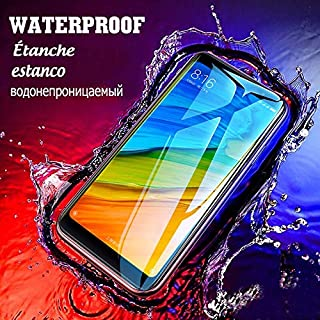 GHQQ 2pcs 9D Full Cover Screen Protector Glass On The For Xiaomi Redmi Note 6 Pro 4 4X 5A 6A Tempered Glass For Redmi Note...