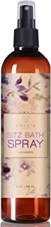 Large 8oz Postpartum Spray With Witch Hazel | Sitz Bath Herbal Perineal Care | Use Directly, In A Peri Bottle Or On Pads | With Aloe & Helichrysum Essential Oil | Speed Up Labor Recovery