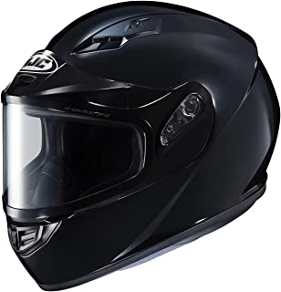 HJC CS-R3 Snow Helmet Gloss Black Dual Lens (XL)