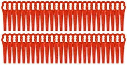 50 stuks/100 stuks kunststofmessen, vervangingsmessen, snijplaatjes, mes, Mower Blade, reservemessen, set geschikt voor ac...
