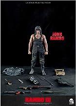 Luck7DZ Rambo III - John Rambo (Sylvester Stallone) 1/6 figura de acción del modelo de escala Kit ilustraciones de colección múltiple accesorios del regalo Decoraciones de juguete Muñeca Periféricos A