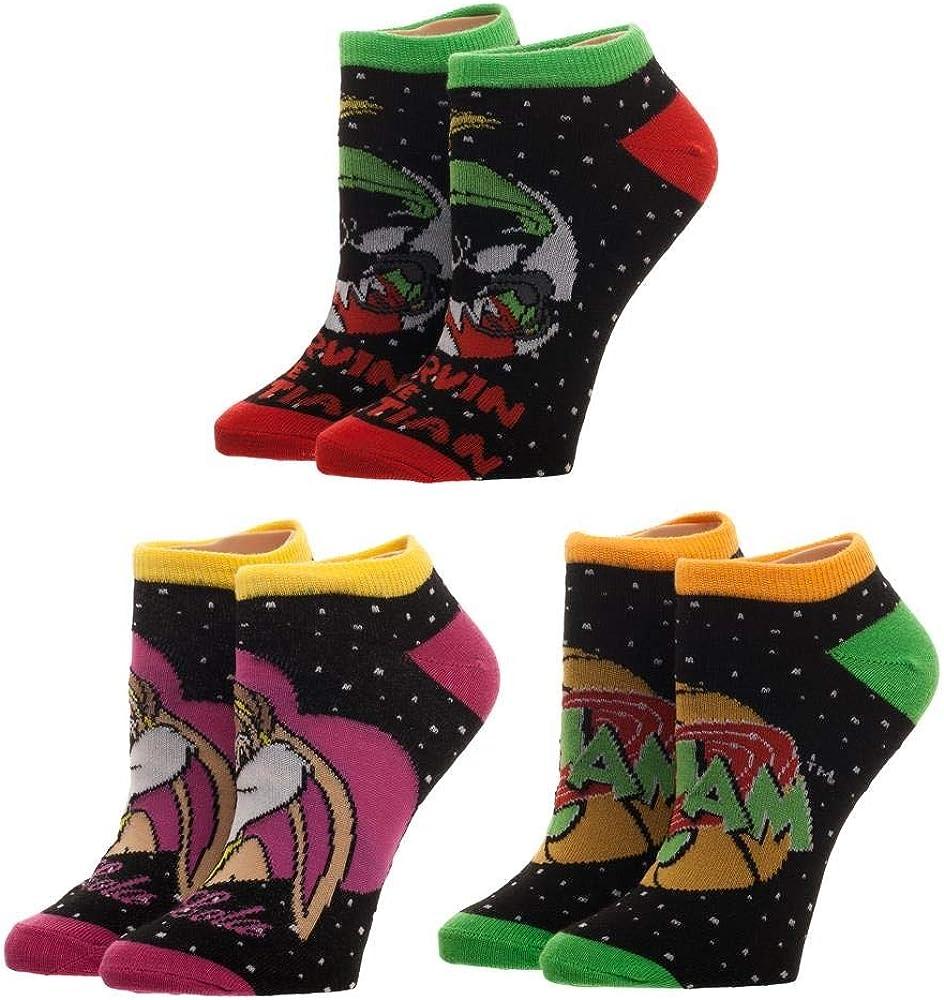 Space Jam Juniors 3 Of Be super Max 42% OFF welcome Socks Pairs Crew