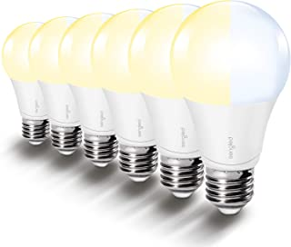 Sengled A19 LED Light Bulbs, Soft White Light Bulb and Daylight Bulb, 2700K/5000K A19 LED Bulbs, 60W Equvilent (9W), 800 Lumens, Double Click Switch Control, Bedroom Lighting, 6 Pack