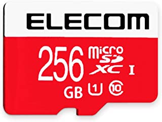 エレコム microSDXCカード 256GB UHS-I/U1/Class10 NINTENDO SWITCH動作検証済み GM-MFMS256G