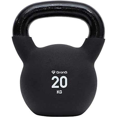 GronG(グロング) ケトルベル 4kg 8kg 12kg 16kg 20kg 24kg ブラック