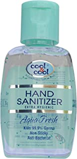 Cool & Cool Hand Sanitizer Gel 60 ml, Pack of 1 (Assorted Scent)