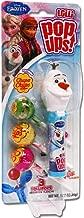 Flix Candy POP UPS! Frozen Emoji Licensed Character Lollipop Blister Cards - 6 Count