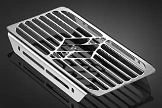 Marauder VZ 800 1997/02 - Kit Radiator Grill Cover (S-0347) - Protector Guard Grille - Steel FE360 - De Pretto Moto Accessories (DPM Race) - 100% Made in Italy