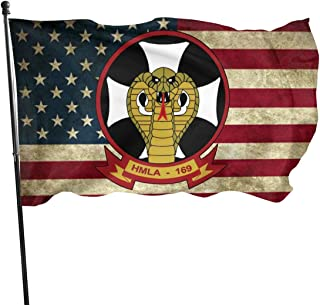 1st Marine Division Marine Light Attack Helicopter Squadron Flag 3x5 Foot American Flag