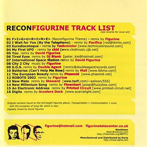 Recon Figurine Remix CD