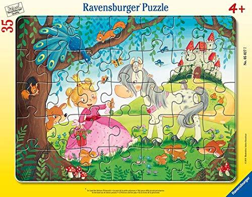 Ravensburger Kinderpuzzle 05027 - Im Land der kleinen Prinzessin -  Rahmenpuzzle