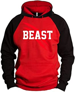 New Beast and Beauty - Couple Matching Hoodie - His and Her Sweatshirt