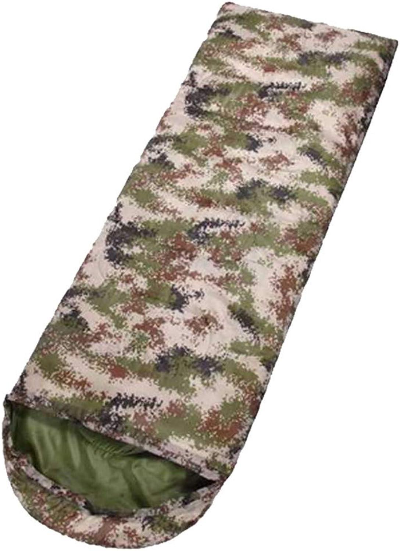 LAIABOR Camping Schlafsäcke Envelope Camouflage Bergsteigen Erwachsenen warmen Schlafsack feuchtigkeitssicher feuchtigkeitssicher feuchtigkeitssicher für Wanderschnack-Verpackung B07NY2HSZB  Sonderpreis bbb279
