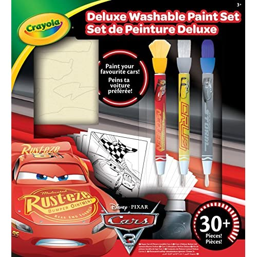 CRAYOLA Kit di Pittura Deluxe, Cars 3, 54 0159 E 000