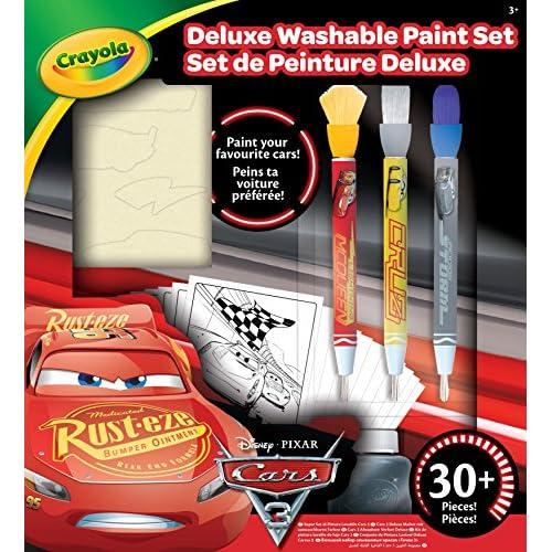 CRAYOLA Kit di Pittura Deluxe, Cars 3, 540159 E 000