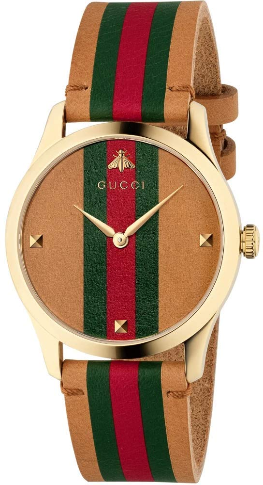 Gucci G Timeless Leather Strap YA1264077