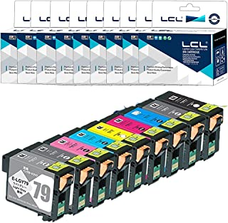 LCL ESPON用 エプソン用 IC9CL79 (BK/MB/C/VM/Y/GY/LGY/LC/VLM) 顔料 大容量 互換インクカートリッジ (9色セット) 残量表示付き 対応機種:SC-PX5V SC-PX5VII