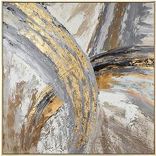 carowall CAROWALL.COM Stampa su Metallo Quadro Moderno per Soggiorno Bianco 30x30 cm