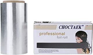 CCbeauty Silver Roll Aluminum Foil, Hair Foils For Highlighting Balayage Bleaching, Hair Coloring
