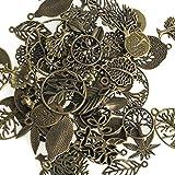 Antik Silber Tibetanische Lebensbaum Schmuckanhänger Schmuckherstellung Armband Anhänger100g