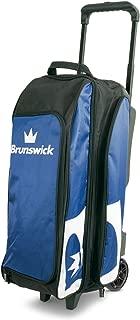 Brunswick Blitz Triple Roller Bowling Bag, Blue