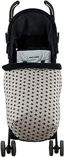 Janabebé Universal Baby Blanket Footmuff for Pushchairs (Dark Sky, Polar Fleece)