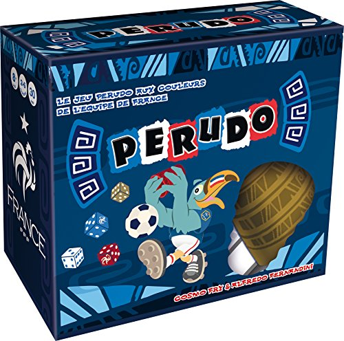 Asmodee – Gesellschaftsspiel – Perudo Fußball, PEFT01FR