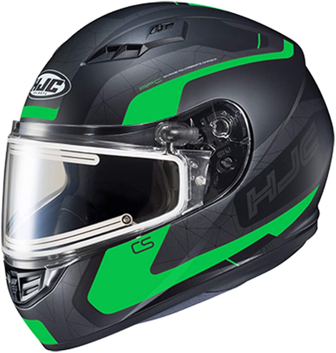 MC-1SF HJC CS-R3 Dosta Adult Snowmobile Helmet with Electric Shield X-Large