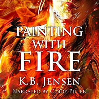 Painting with Fire audiobook cover art