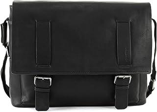 Strellson Turnham Messenger LHF Herren Leder Tasche, black 900