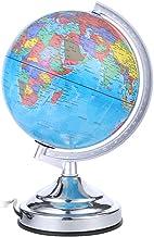 Lossky 110 V 15W Tellurian Globe Lámpara de Escritorio Luz Nocturna Sensible T-ouch Control Regulable 3 Niveles Brillo Ajustable E14 Base de la Bombilla Soporte para la decoración del hogar Material