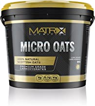 Matrix Nutrition Micro Oats Carbohydrate Powder 5kg – Low GI Carbohydrate Blend – Scottish Oats Waxy Maize Estimated Price : £ 13,99