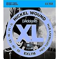 D'Addario ダダリオ ギター弦 EXL116 NICKEL WOUND [並行輸入品]