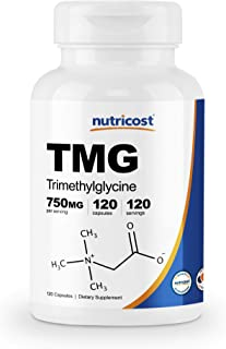 Nutricost TMG 750mg, 120 Capsules
