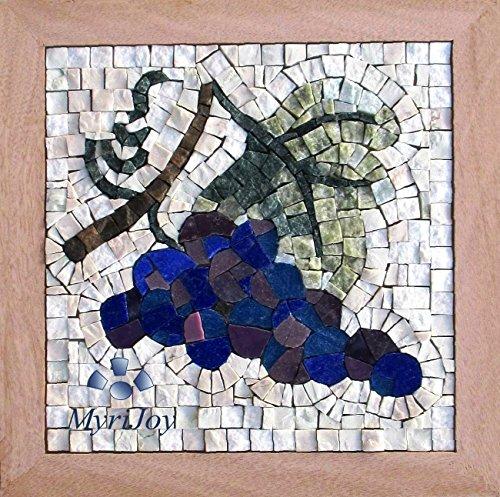 Kit mosaico Cuatro estaciones Otoño - Idea regalo original - Mosaicos artesanos - Decoración hogar bricolaje hazlo tu mismo - Feng Shui abundancia