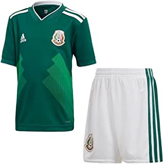 adidas Mexico Home Soccer Mini Kid Set World Cup 2018