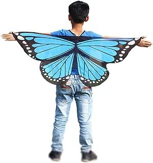 Weixinbuy Kids Girls Fairy Butterfly Wings Princess Dress-up Halloween Cloak Costume
