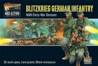 Bolt Action Blitzkrieg! German Infantry Figures 1:56 WWII Military Wargaming Plastic Model Kit