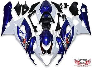 VITCIK Full Fairings Bolt Screw Kits for Honda CBR600F4i 2004 2005 2006 2007 CBR 600 F4i 04 05 06 07 Motorcycle Fastener CNC Aluminium Clips Black /& Silver