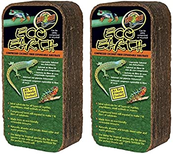 2 Pack  Zoo Med Eco Earth Bricks