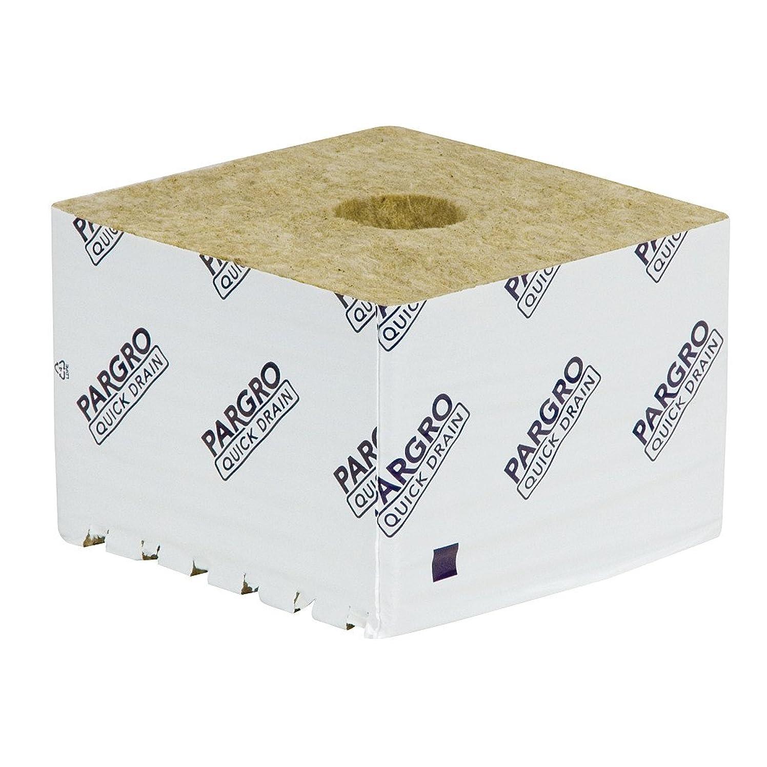 Grodan Pargro QD Jumbo Block 6 in x 6 in x 4 in w/Hole