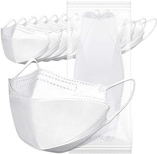 【韓国で人気マスク】マスク 10枚入り(個別包装) 立体構造 ホワイト 不織布マスク おしゃれ 防塵 花粉症 通気 小顔見せ効果 メガネの曇りを防ぐ 口紅が付きにくいタイプ 男女兼用
