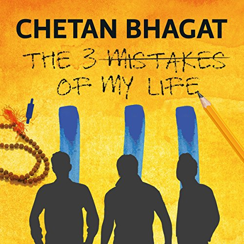 The Three Mistakes of My Life audiobook cover art